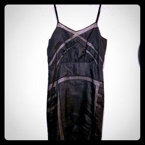 NWT Anthropologie Silence + Noise black dress sz 4
